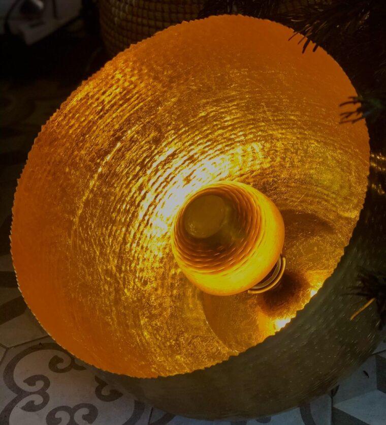 lampe apollon ronde