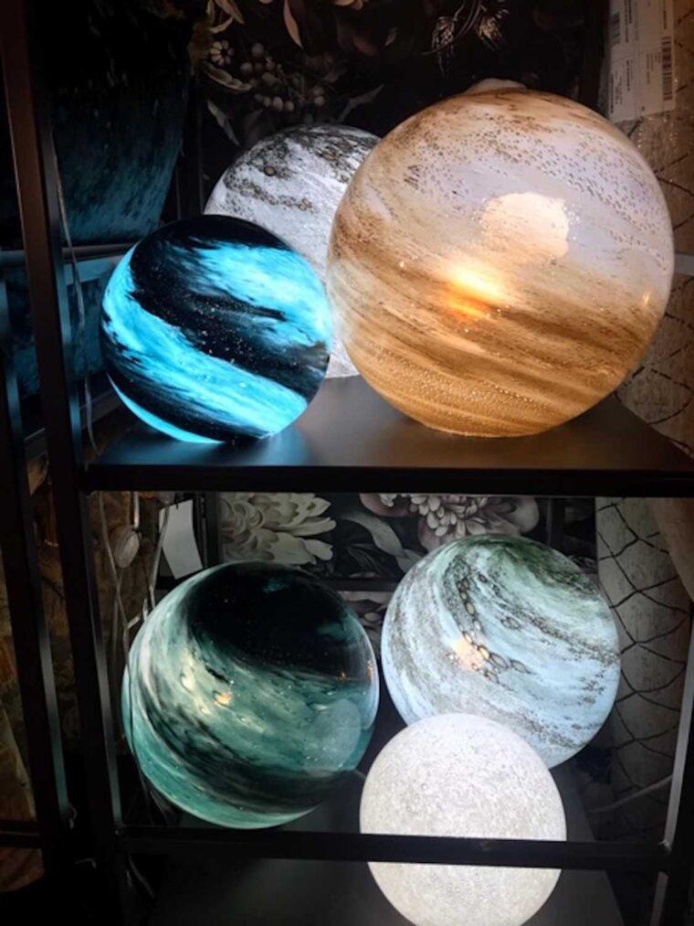 Lampe dany effet planète
