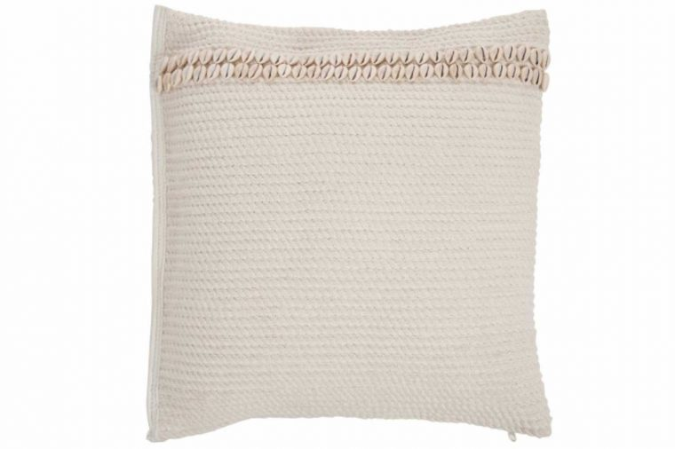 Coussin coquillages