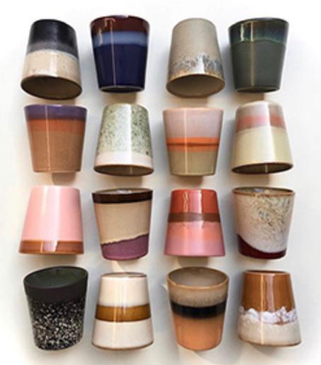 set de 6 mugs en céramique