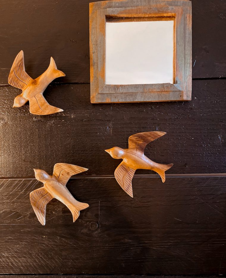 déco murale oiseaux bois