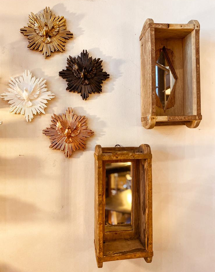 miroir moule a brique