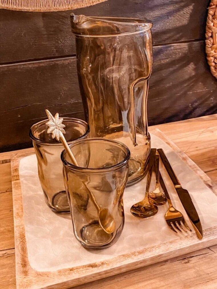 carafe verre soufflé