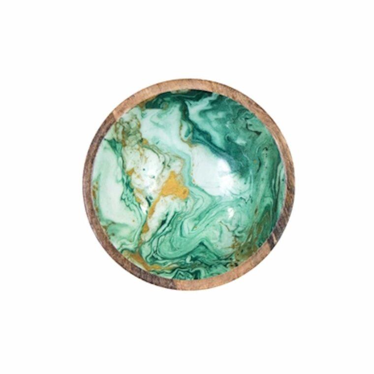 vaisselle manguier marbre