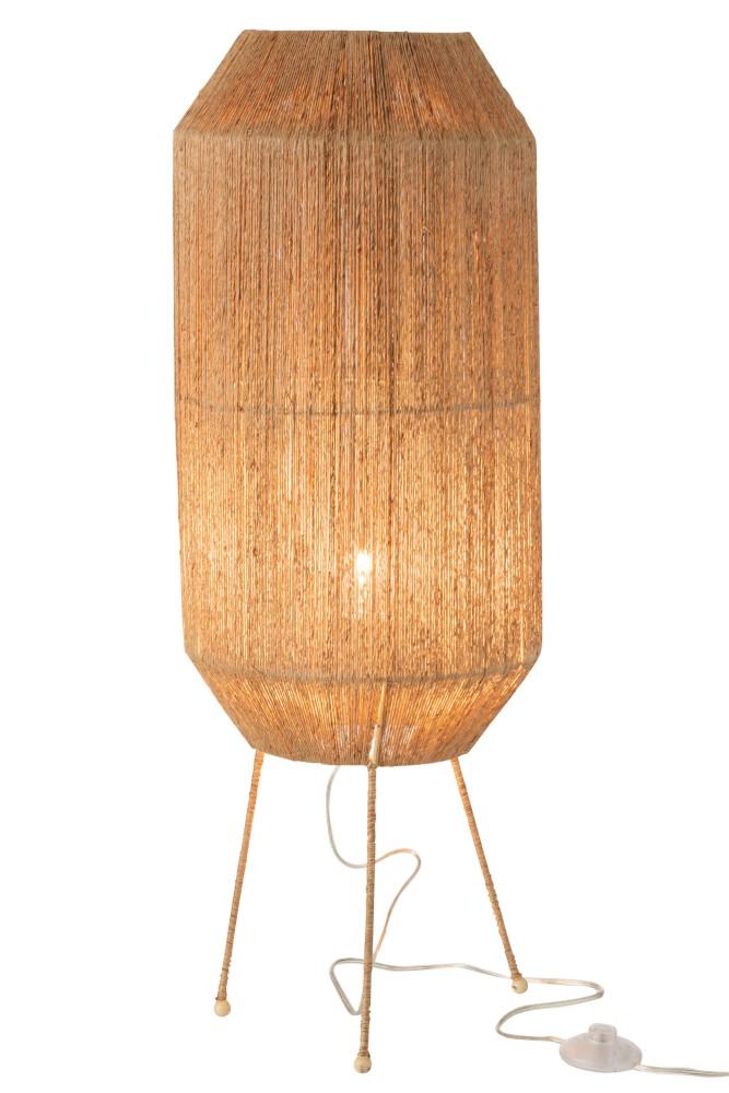 lampe dantya jute naturel
