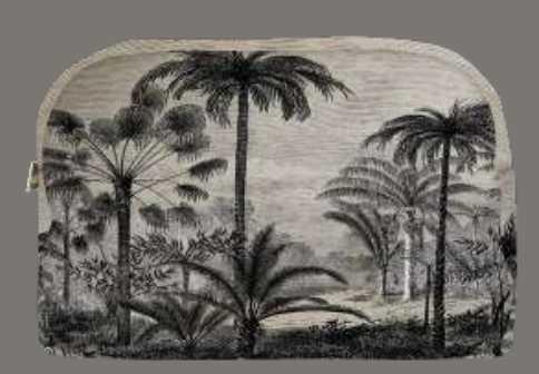 Pochette palmiers podevache