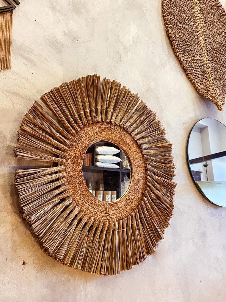 Miroir naturelle Alang