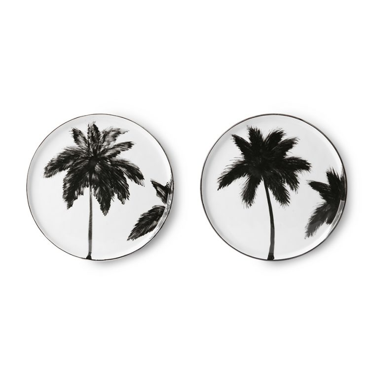 Assiette palmiers dessert