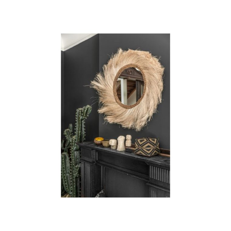 Miroir fibre de coco