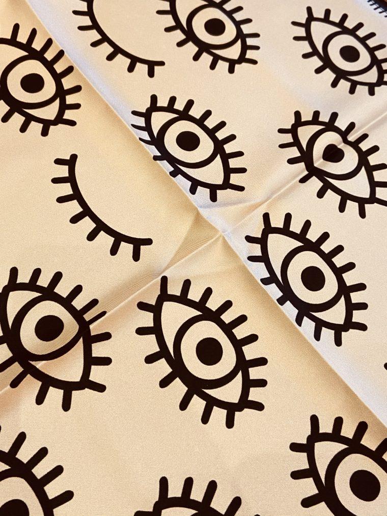 foulard yeux