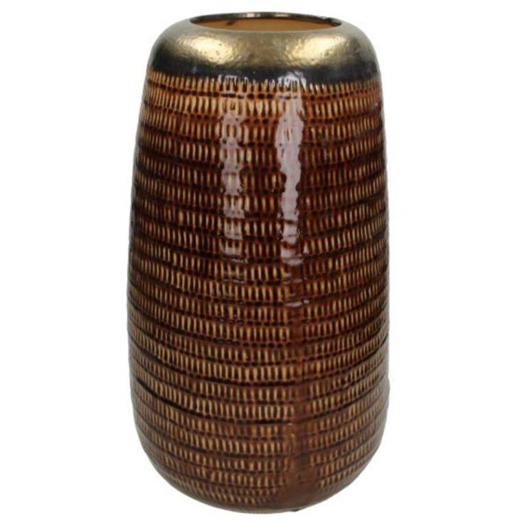 Vase brown