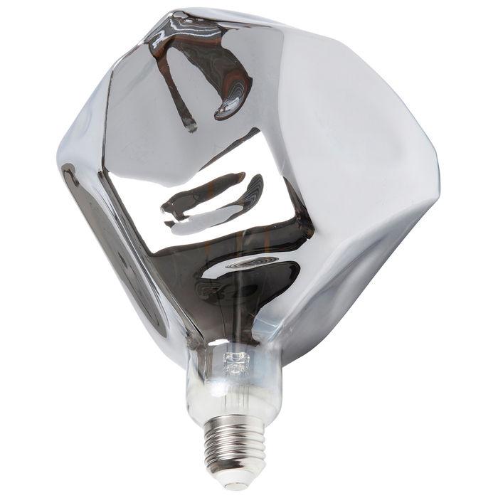 ampoule kare argentée