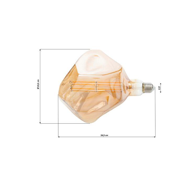 Ampoule LED forme diamant