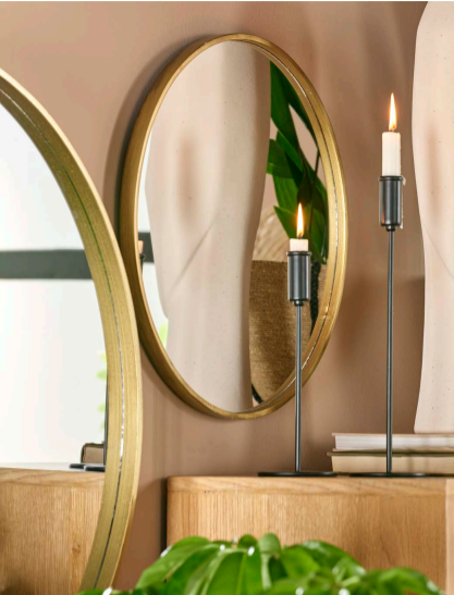 miroir gold antique