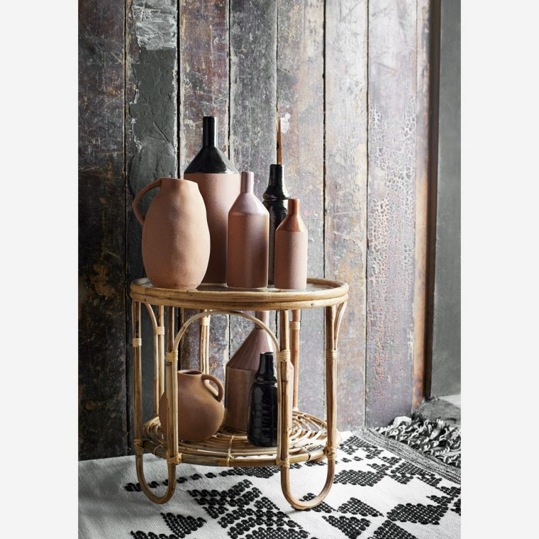 Vase terracota forme tube