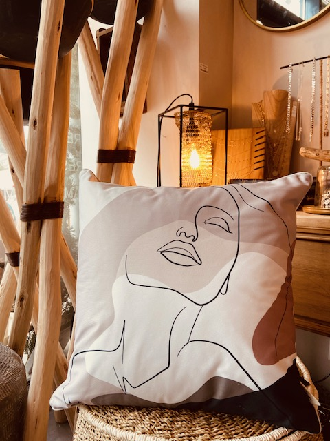 Coussin visage outdoor