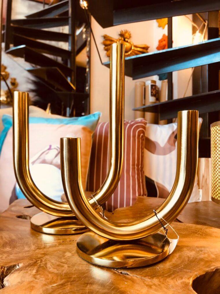 chandelier laiton