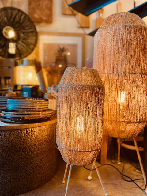 lampe ficelle