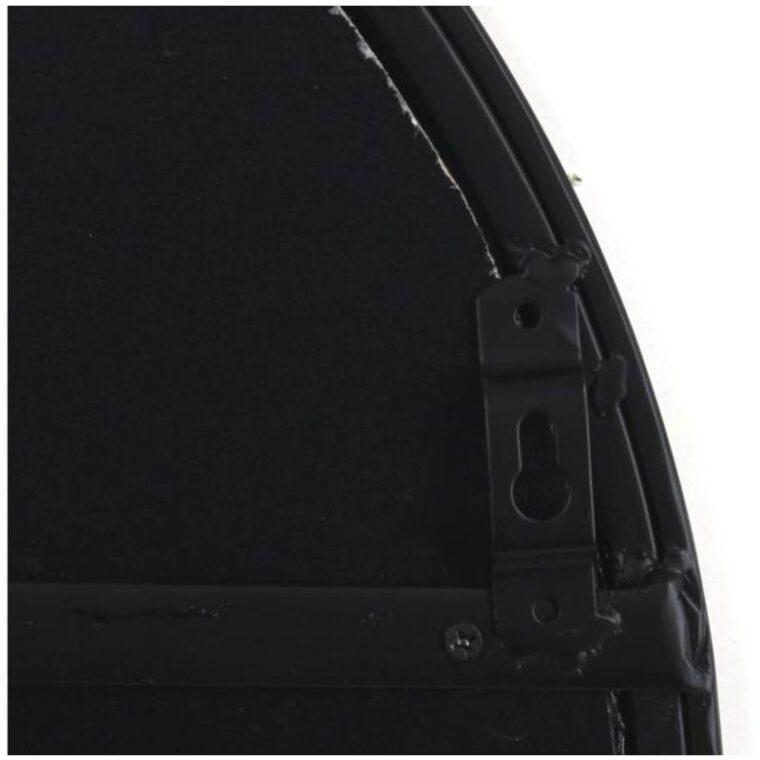 Miroir arche noir 80 x 2 x 50 cm