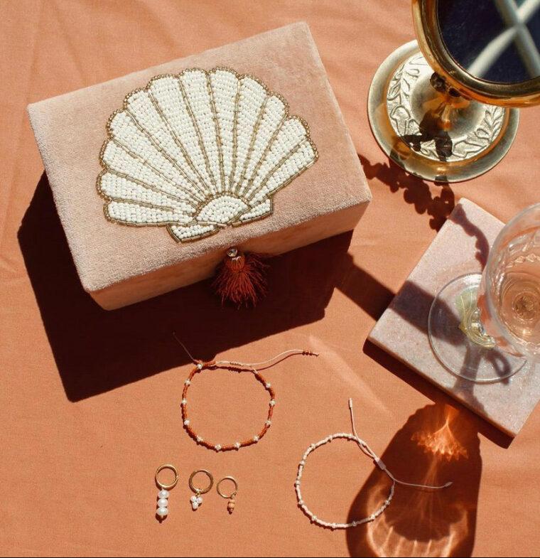 boite bijoux coquillage