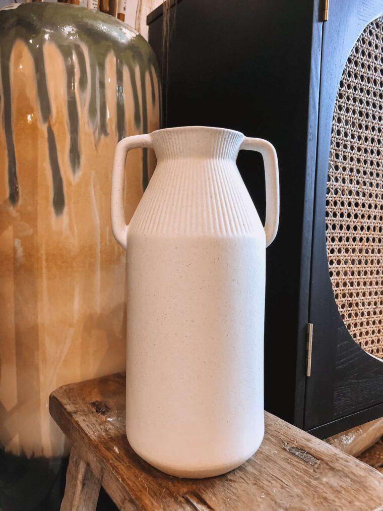 Vase Porcelain White