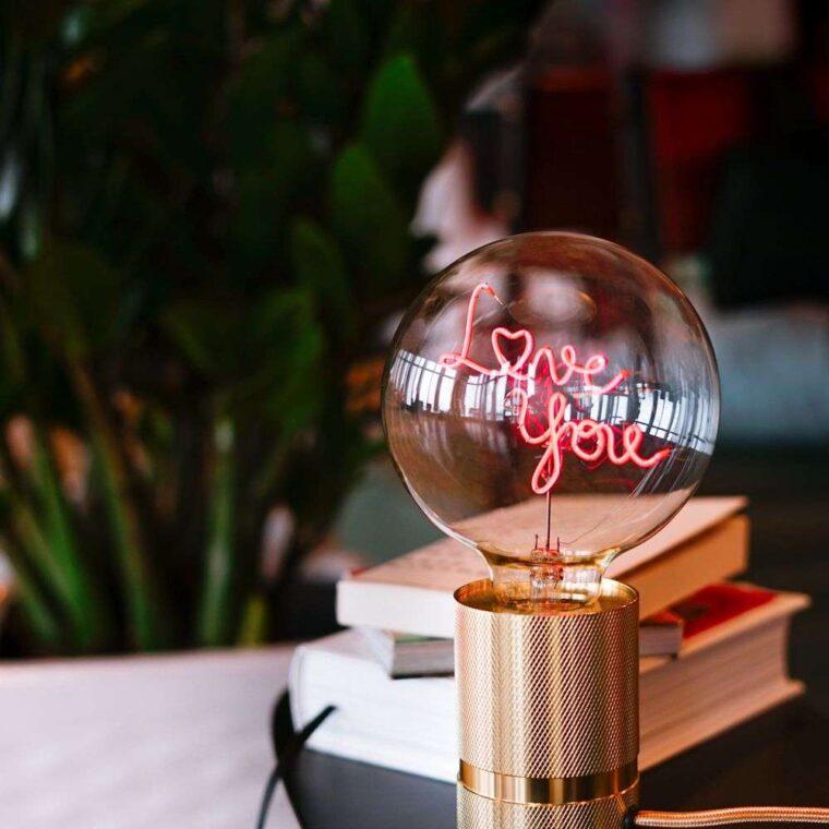 ampoule message element lighting